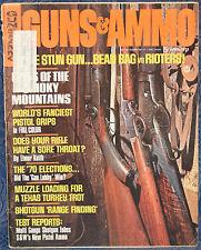 Vintage Magazine GUNS & AMMO April 1971 !!! New SMITH & WESSON  Pistol AMMO !!!