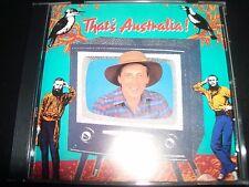 That's Australia Rare Various CD Ted Eagan Eric Bogle John Derum The Bushwackers