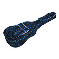 """Double Stitched Padded Straps 41""""Gig Bag for Guitar 600D Oxford Gig Bag BL B2S4"""