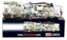 J5 TACTICAL V1 PRO - DESERT CAMO- TACTICAL FLASHLIGHT 300 Lumens