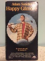 HAPPY GILMORE [VHS] * Adam Sandler, Kevin Nealon (Comedy) -- FREE SHIPPING!!!