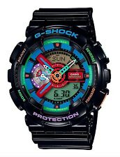 Casio G Shock * GA110MC-1A Anadigi Multi Color Dial Black Gshock COD PayPal