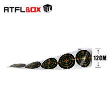4.7''Bullseye Splatter and Sefl Adhesive Shooting Target Paper 100pcs/roll