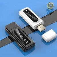 Bluetooth Receiver Auto MP3 Spieler Stereo Musik FM Transmitter USB Adapter