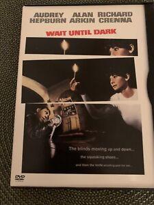 WAIT UNTIL DARK AUDREY HEPBURN * ARKIN + CRENNA DVD