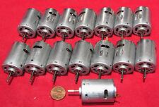 15 pcs Mabuchi Motor RS-380SH-4535 3V-6V DC 18,000 RPM Vacuum Robot Car RC Hobby