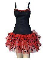 Lady Bird Tutu Fancy Dress black red alternative clothing emo cute gothic