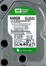 Western Digital WD6400AACS-00G8B1 640GB DCM: DGNNHTJMBB
