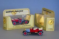 2 Matchbox Models of Yesteryear Y-2 1914 Prince Henry Vauxhall (red), 1:47
