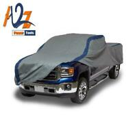 Duck Covers Weather Defender Pickup Truck Cover, Fits Crew Cab Dually Long Bed T