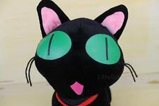"Black Cat Allentown Toy Plush Stuffed Animal Halloween Kitty 13"" Big Eyes RARE"