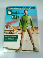 Breaking Bad Primera Temporada 1 Completa - 3 x DVD Español Ingles