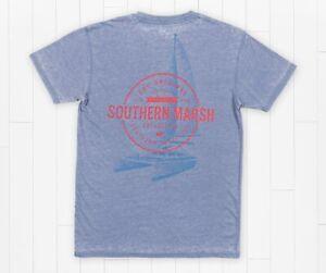 Southern Marsh - Men's - SEAWASH™ Tee - Sail Away
