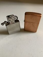 ZIPPO COPPER WINDPROOF LIGHTER D 03 BRADFORD PA MADE IN USA  - NEW
