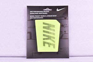 Nike Performance Graphic Double Wide Wristbands Choose Color