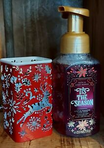 Tis The Season Foaming Handsoap &  Reindeer Holder by Bath and Body Works