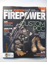4 Firepower magazines - May/June & Mar/April 2018 + Nov/Dec 2017 + Sept/Oct 2016