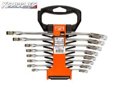 1RM/SH8 Bahco Ratchet Spanner Set 8MM-19MM 8PC ***Next Day Delivery****