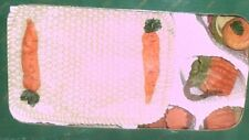 New carrot picnic Themed 8 Pcs Mini Tea Set Barbie Miniature Playset