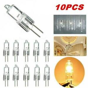10Pcs G4 10W Halogen Dimmable Capsule Bulb Replace Light Lamps AC 12V New