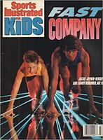 March 1990 Sports Illustrated For Kids Magazine Jackie Joyner w/ Mario Lemieux