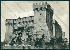 Pesaro Gradara Castello di ABRASA Foto FG cartolina VK2901