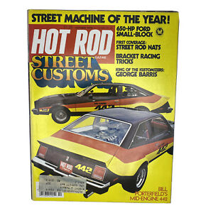 Hot Rod Magazine Original Vintage October 1978 Street Customs Machine of Year