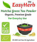 EasyHerb™ Organic Matcha Green Tea Powder, Premium, BRC Food Safety Certified..