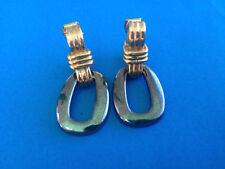 Boucles d'Oreilles Clips Signés LANVIN GERMANY / Earrings