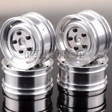 "4P 1.9"" Aluminum Wheel Rim 1063 Silver For RC 1/10 On-Road Drift car tires"
