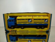 CORGI TOYS 1109 ARTICULATED TRUCK MICHELIN - 1:50? - GOOD CONDITION IN BOX