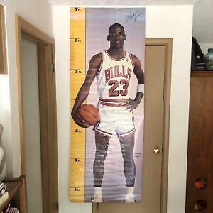 Vintage 1987 Michael Jordan Measure Up Poster