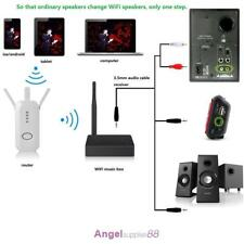 Mini WIFI Audiocast Music Box Wireless Airplay DLNA Adapter Receiver Player A
