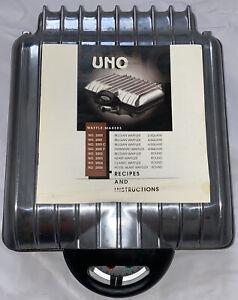 * VILLAWARE UNO* 4  Waffle Maker Baker Williams Sonoma* Model 2001