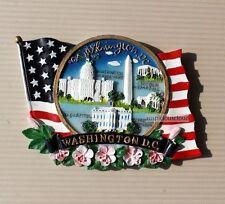 TOURIST SOUVENIR  3D Resin FRIDGE MAGNET - Washington , DC , USA