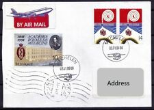 Belgium Used Cover, Medicine Theme stamp on cover