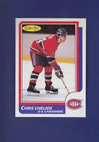 Chris Chelios HOF 1986-87 O-PEE-CHEE OPC Hockey #171 (NM) Montreal Canadiens