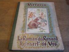 ancien album chromos chocolat victoria complet ( toutes ses images )