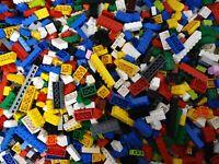 LEGO ® 300 Basic Steine - Grundbausteine - NUR HOHE STEINE - gut gemischt -