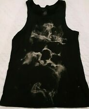 Rock & Republic Men's Size M Black Distressed Tank top Sleeveless Shirt