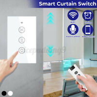 Smart WiFi Curtain Touch Switch RF Wall Light Panel With Alexa Google Home