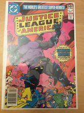 JUSTICE LEAGUE OF AMERICA 184 & 185, SEE PICS FOR GRADE, APOKOLIPS NOW!