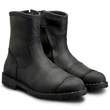 Belstaff Duration Waterproof Leather Boots - Black