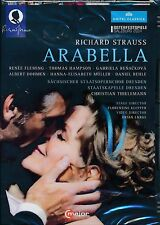 Richard Strauss ARABELLA DVD NEW Renee Fleming THomas Hampson Klepper Dresden
