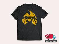 Method Man hip hop music T-shirt S-5XL Tee Vintage rap Free Shipping Wutang