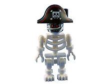 LEGO Esqueleto Blanco momia Minifigura Nuevo Pirata