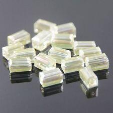 "20pcs Swaro/vski  4x4x8mm Cuboid Crystal beads A ""crystal-yellow"""