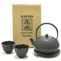 Classical Cast Iron Hobnail Tea Set Teapot Cup TS10-05 S-3196