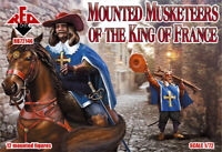 Red Box 72146 - 1/72 - Mounted Musketeers of the King of France, scale model. UK