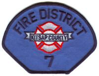 South Kitsap Fire Rescue Department EMT EMS Patch Washington WA SKU176